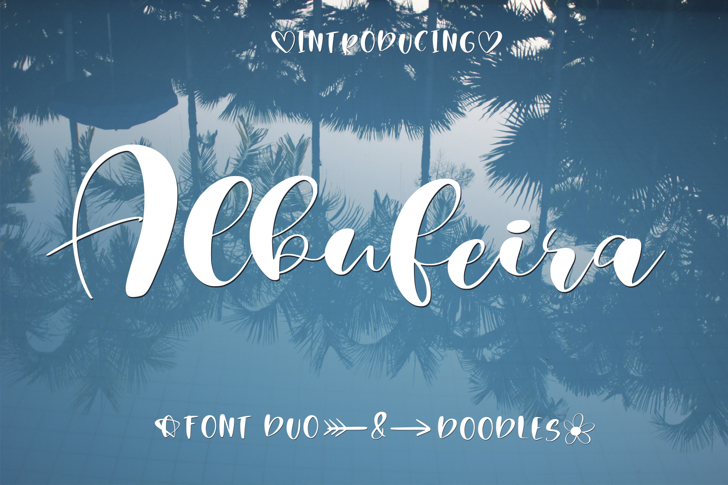Albufeira Font Duo & Doodles example image 1