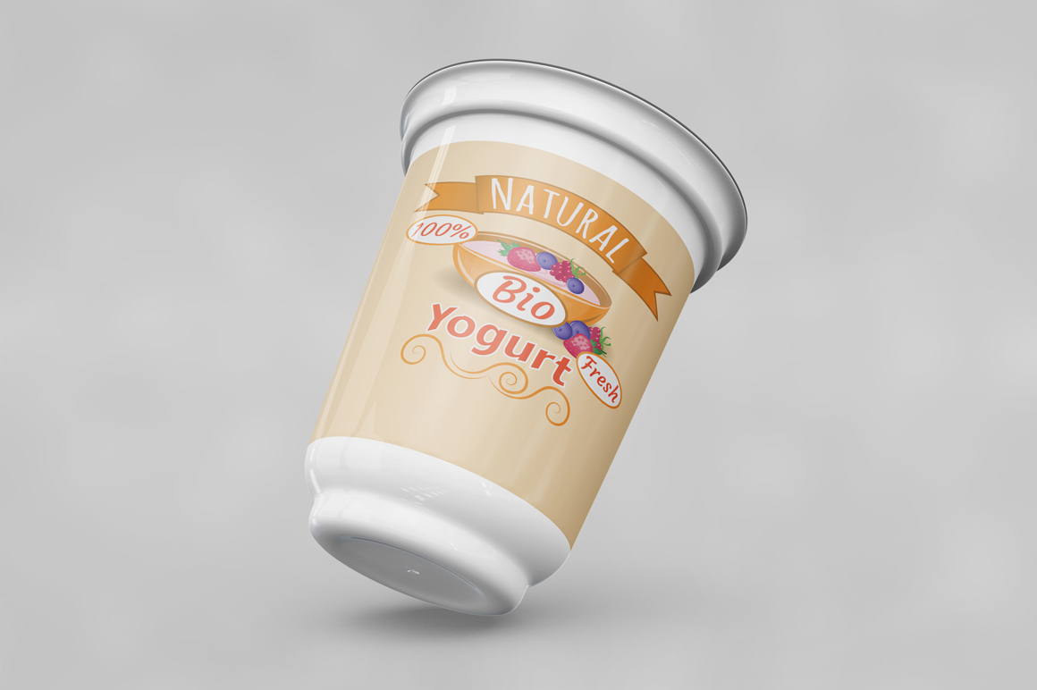 Yogurt Mockup example image 6
