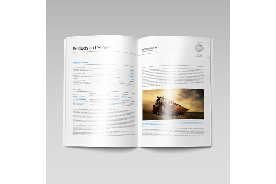 THE Business Plan - Multipurpose Template PRO example image 3