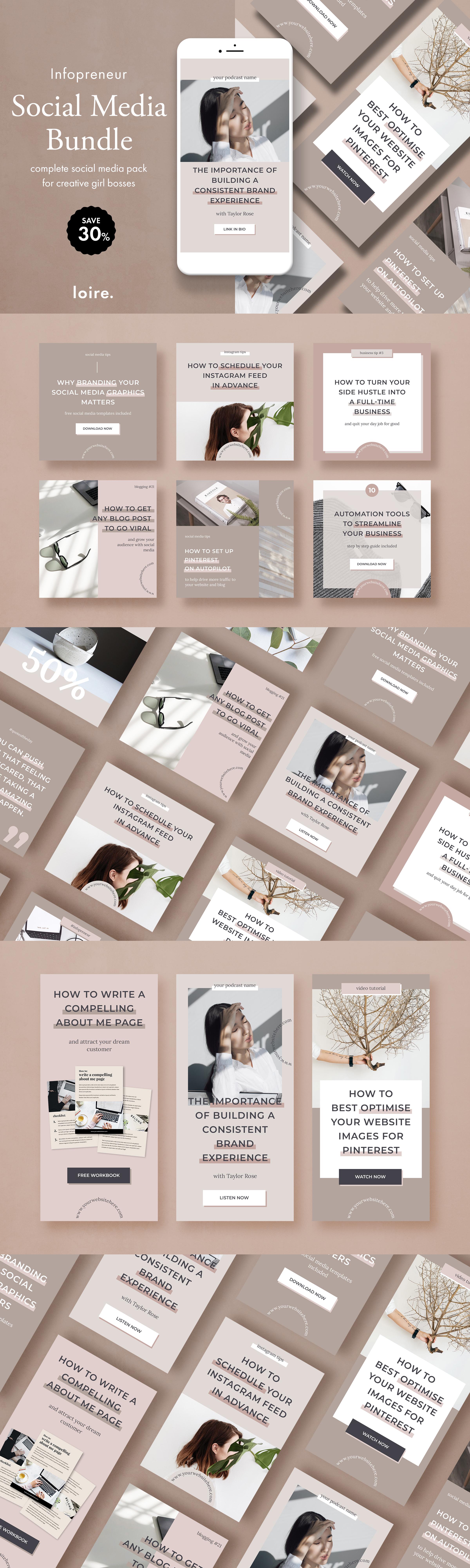 Infopreneur social media marketing bundle for bloggers example image 20