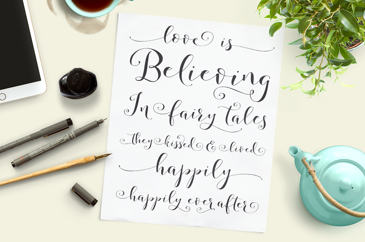 Storybook Calligraphy example image 7