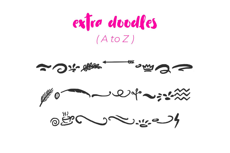 Cuties Magenta - Playful Font - example image 8