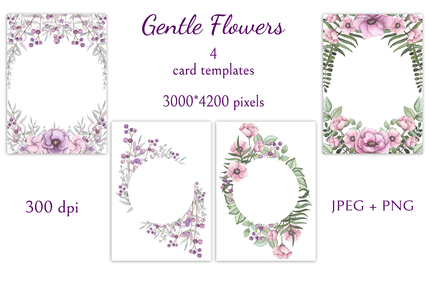 Gentle Flowers example image 2
