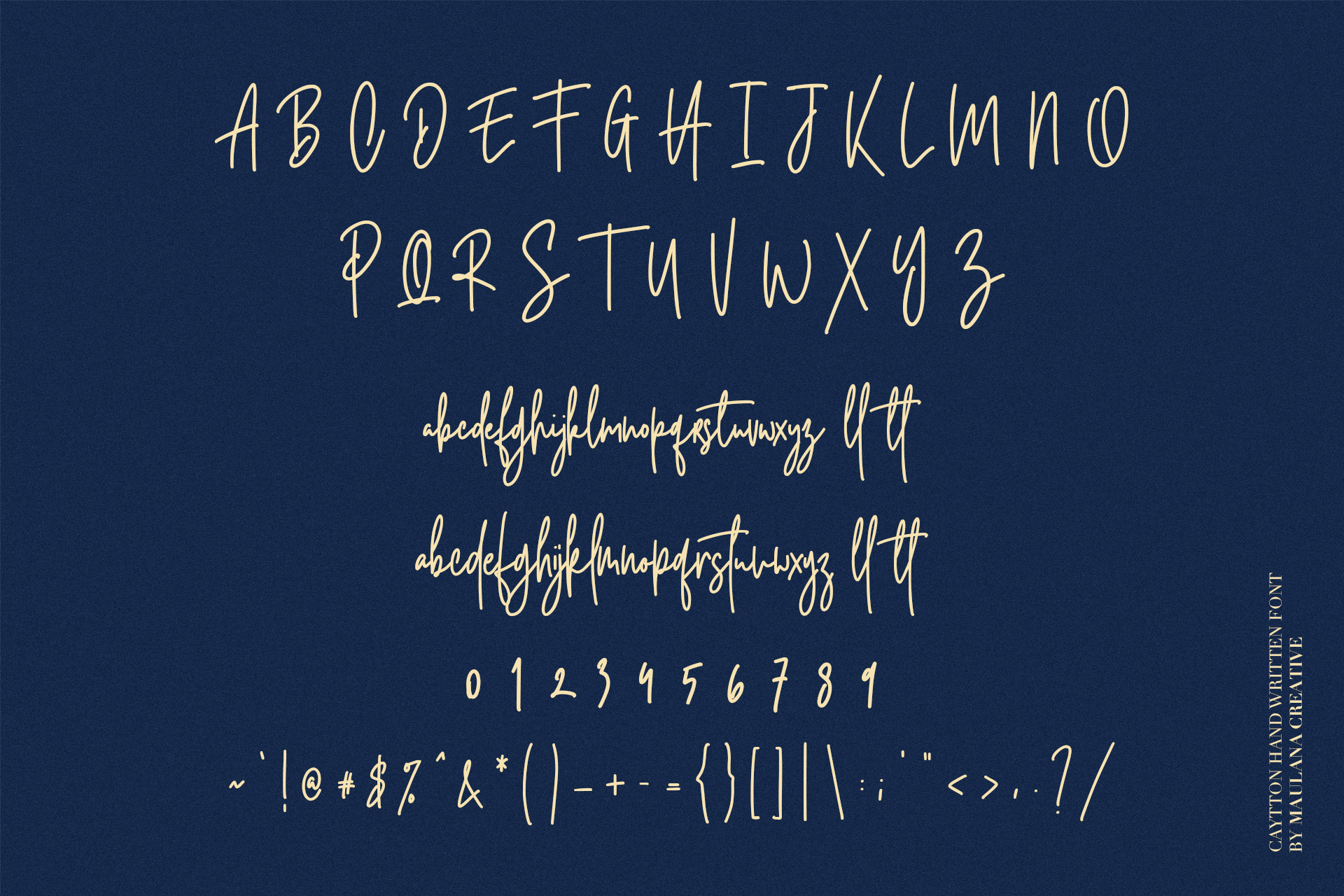 Cayttons Signature Font example image 10