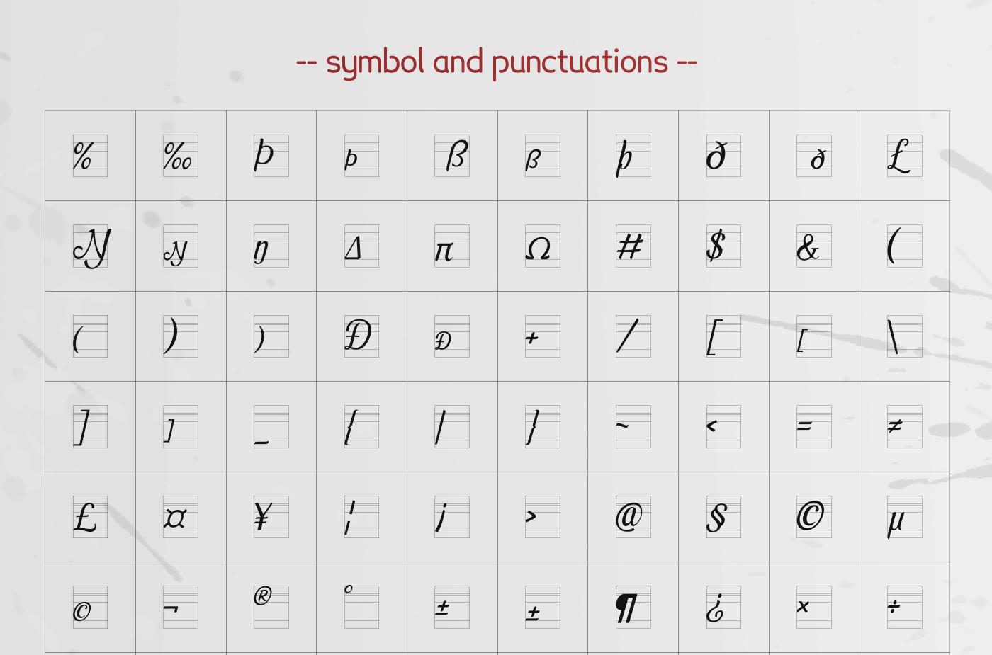 Pamega Script Font example image 10