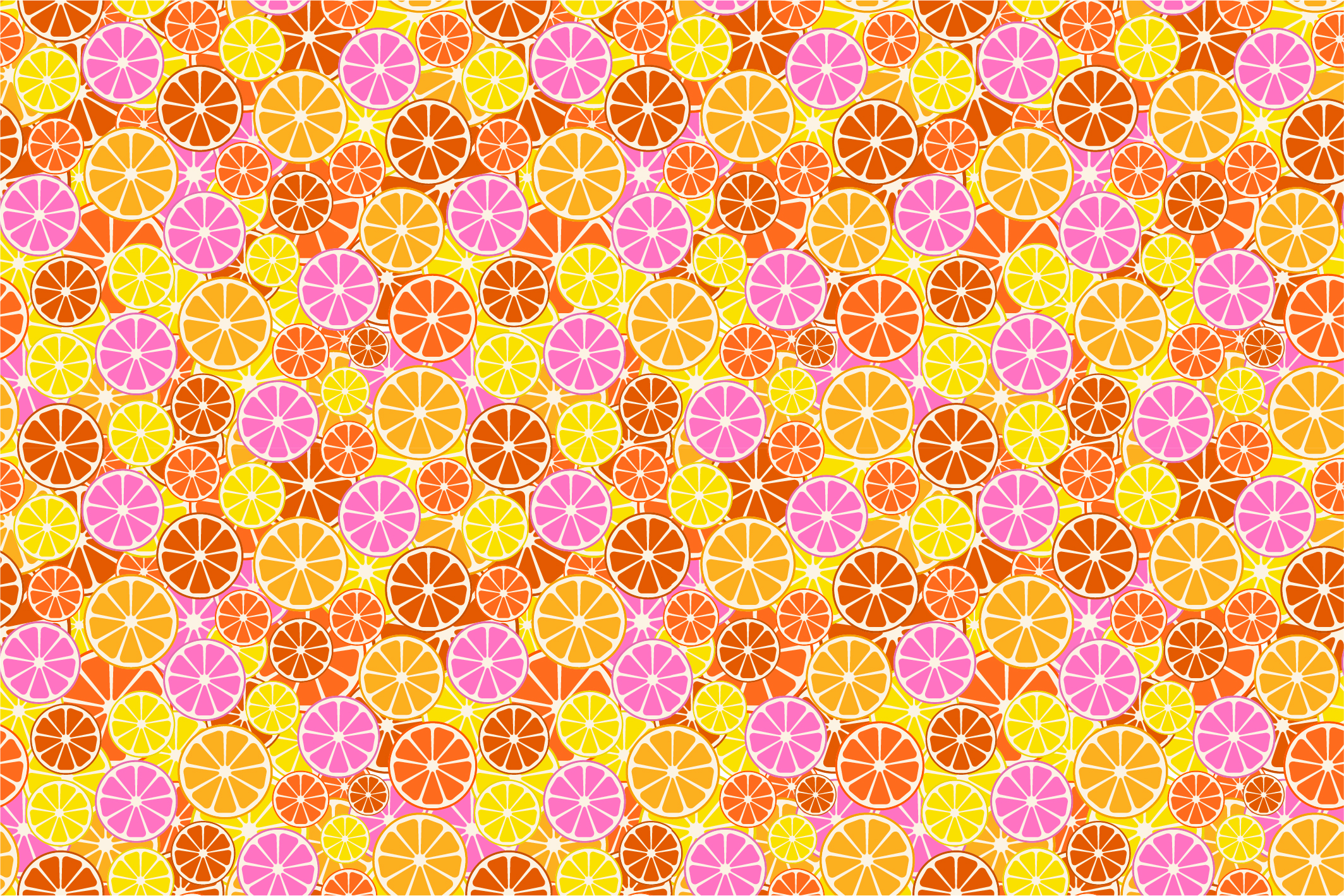Fruit seamless patterns. Swatches. example image 7
