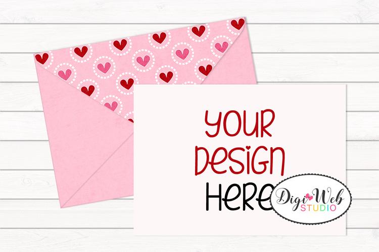 12 Valentine Mockups Bundle -Wood Signs, Pillows, Cards, Mug example image 8