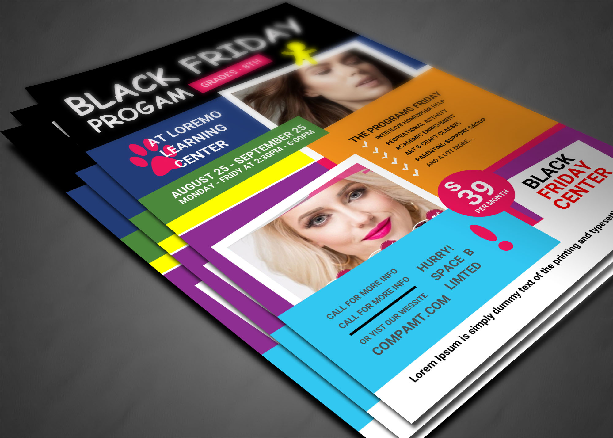 BLACK FRIDAY FLYER example image 3