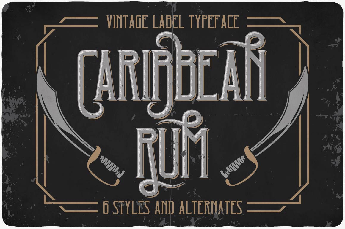 Vintage Fonts Bundle example image 8