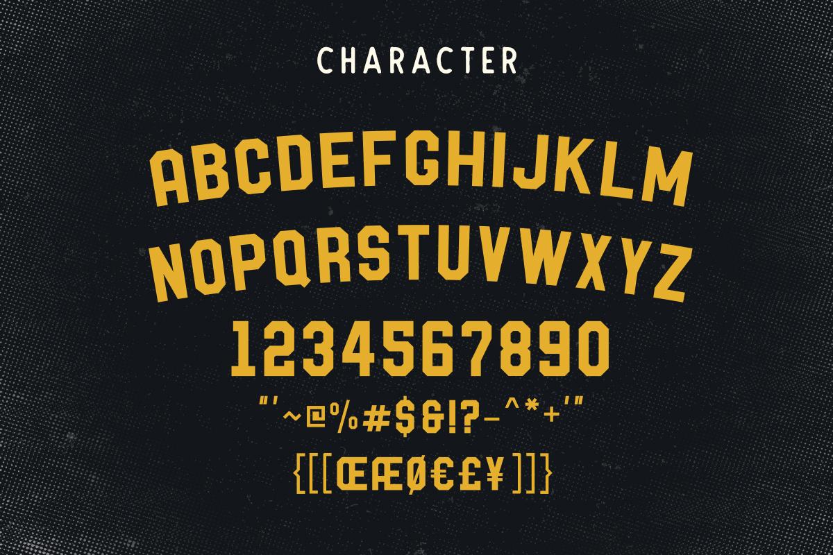 Barthon Typeface Combo (7Fonts)! example image 8