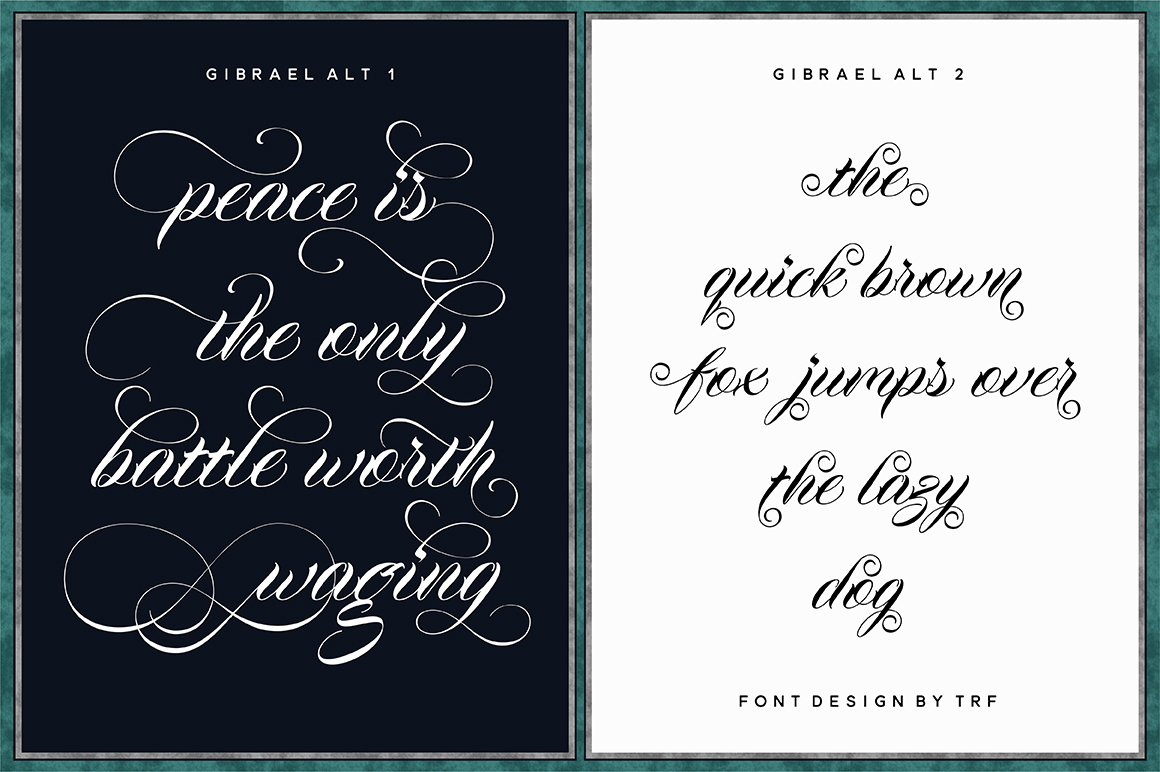 Gibrael | Font example image 2