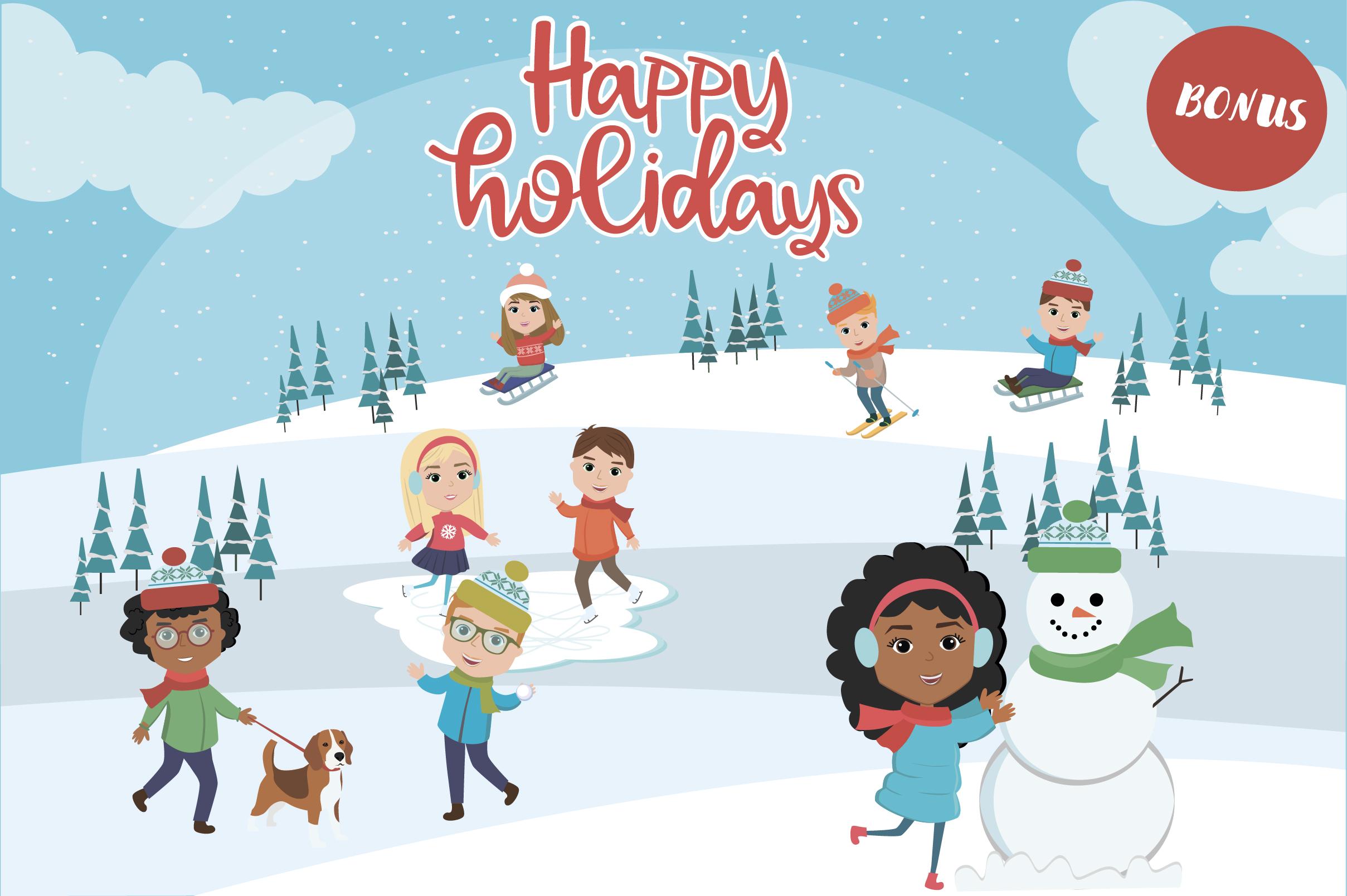 Creator Christmas kids character example image 11