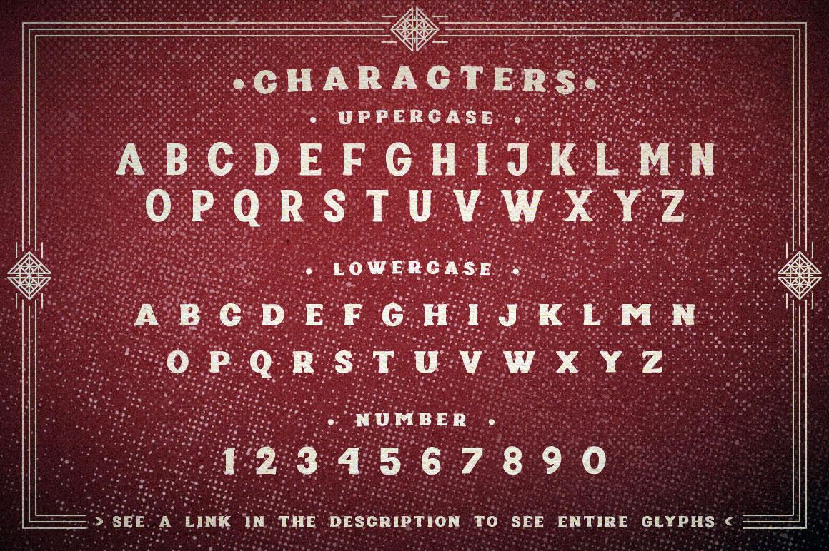 Poptis & Heaver Font example image 3