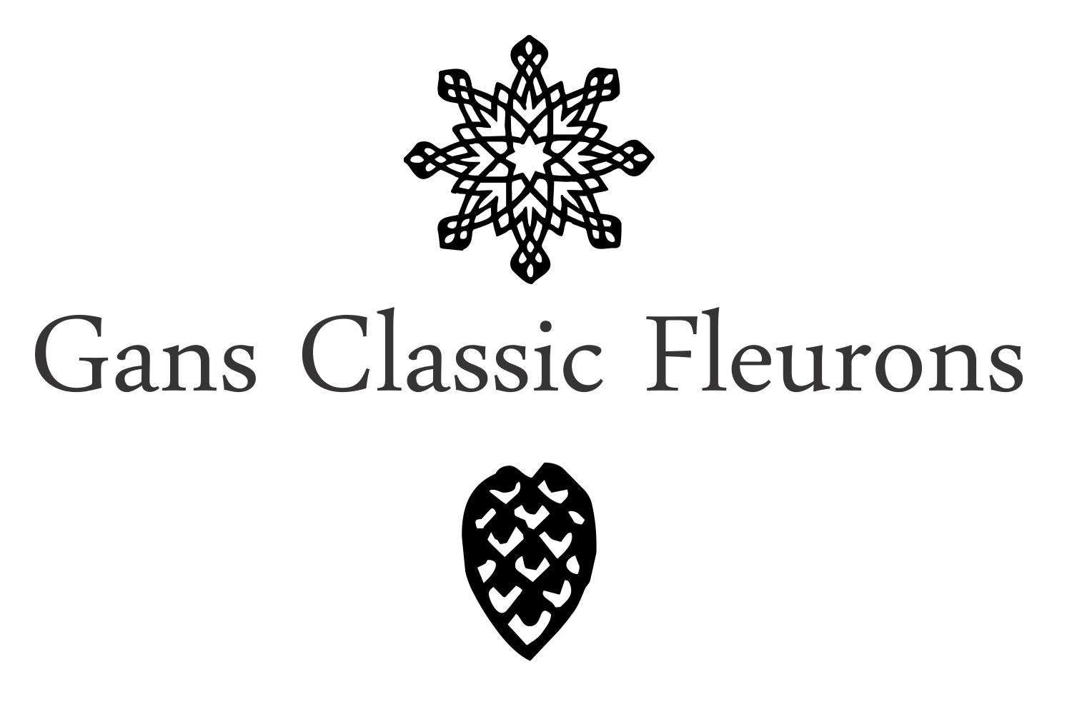 Gans Classic Fleurons example image 6
