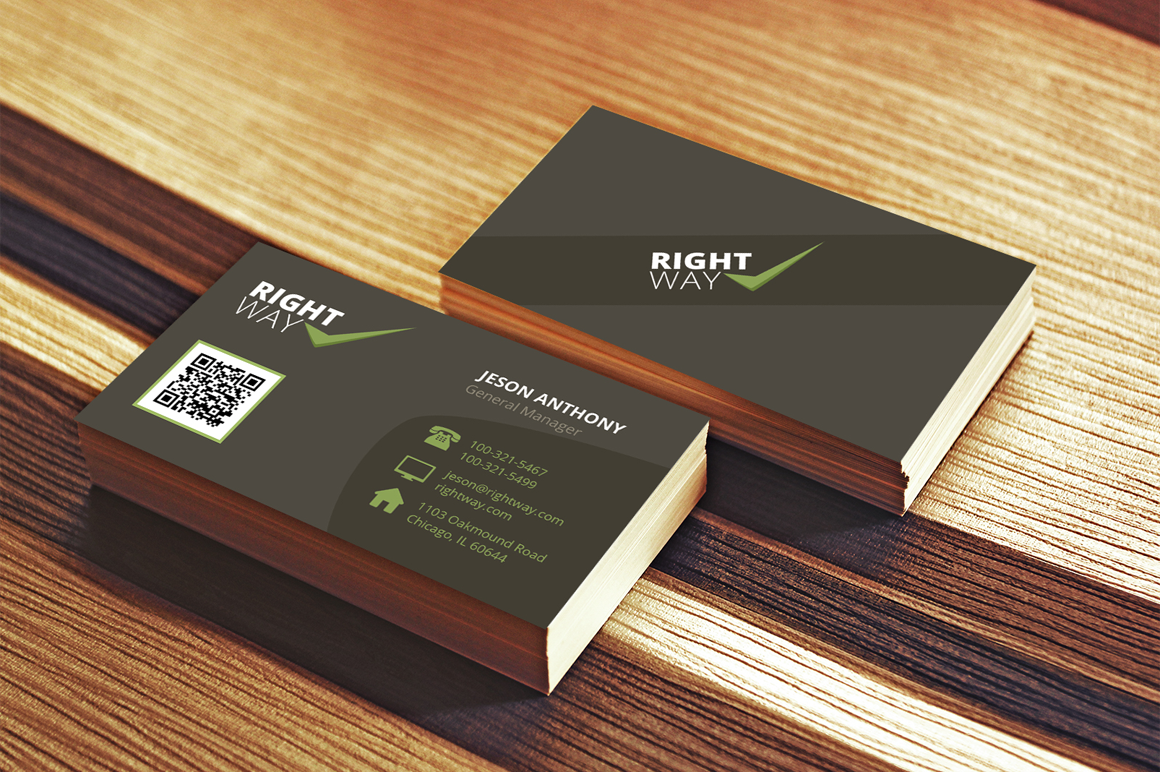 Clean Creative Business Card example image 1