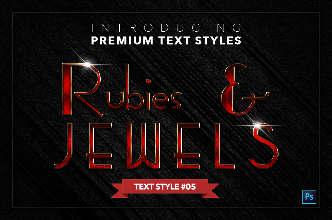 Rubies & Jewels #1 - 20 Text Styles example image 6
