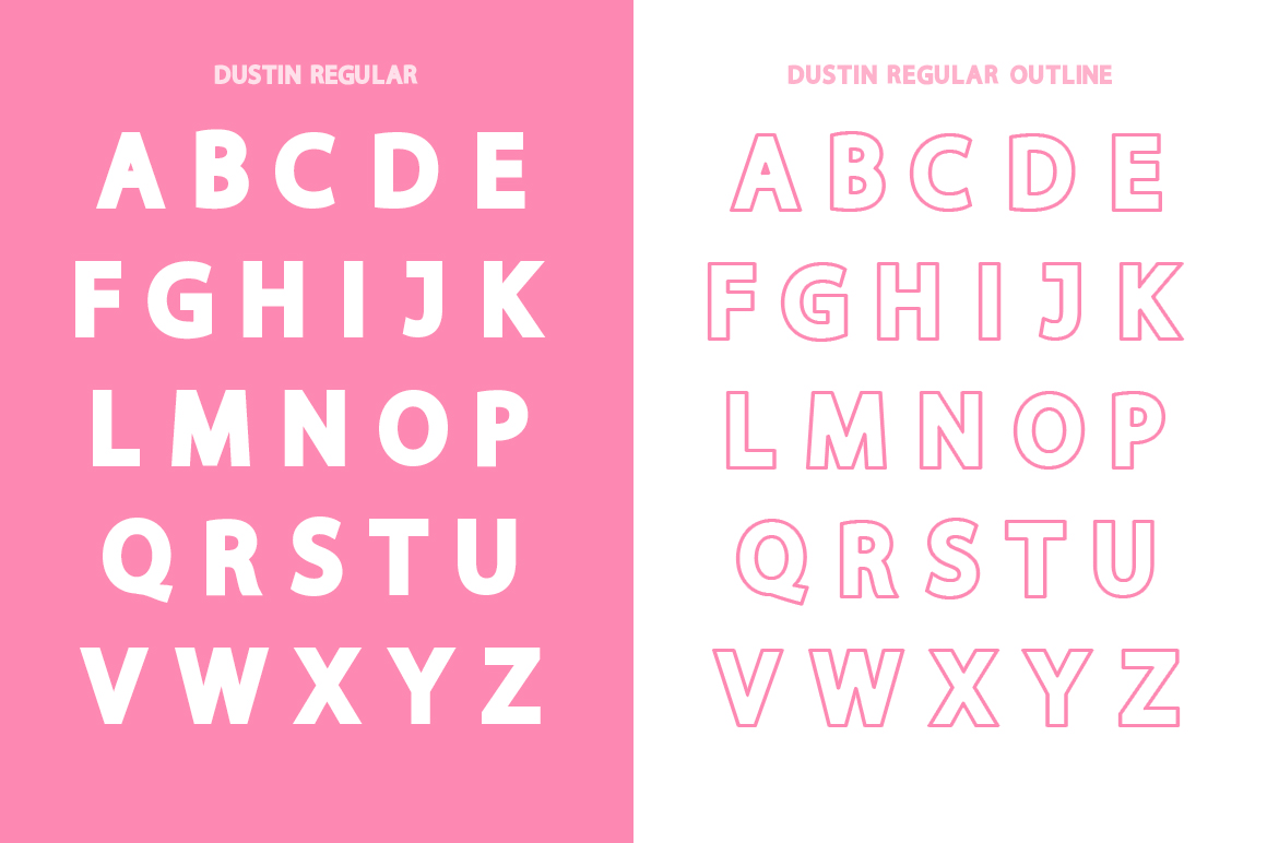 Dustin Font Family example image 8