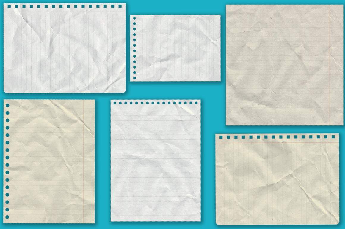 Notebook paper set example image 6
