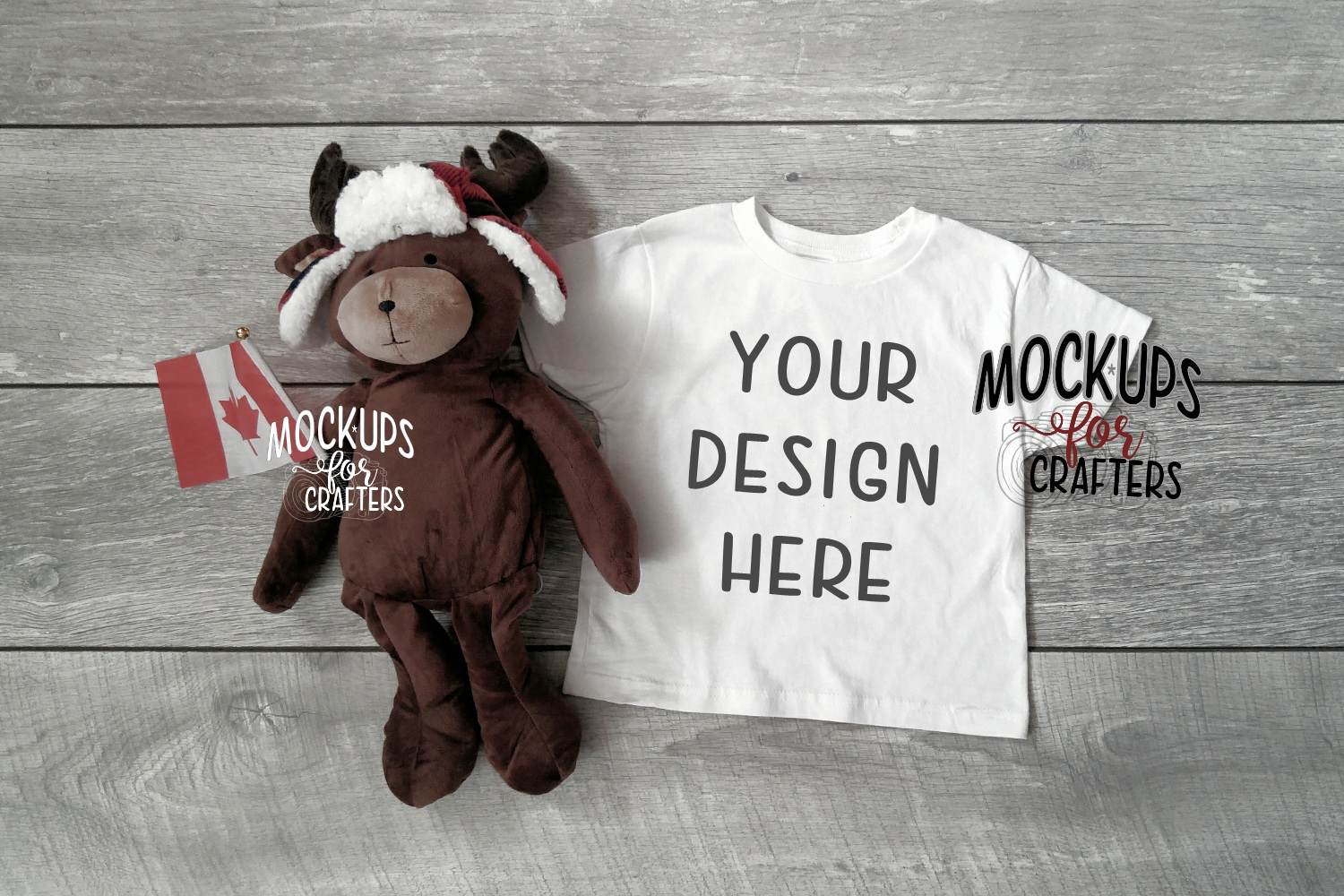 MOCK-UP BUNDLE CANADIAN THEME - BABY BODYSUITS, T-SHIRTS example image 4