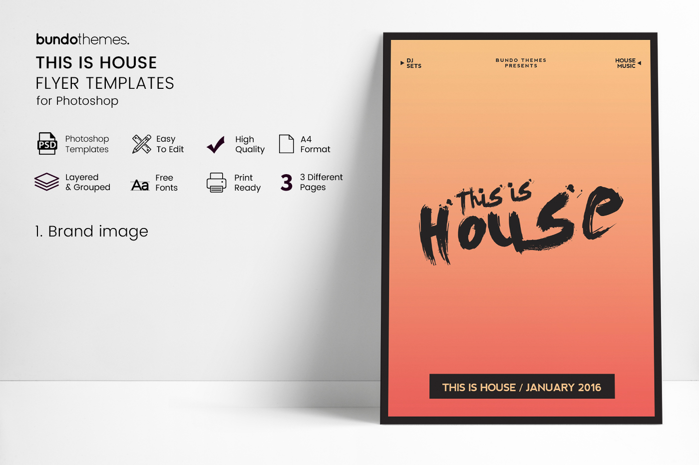 This Is House Flyer Templates example image 3