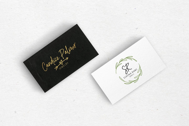 River Jade, signature font script, Logos & bonus clipart example image 6
