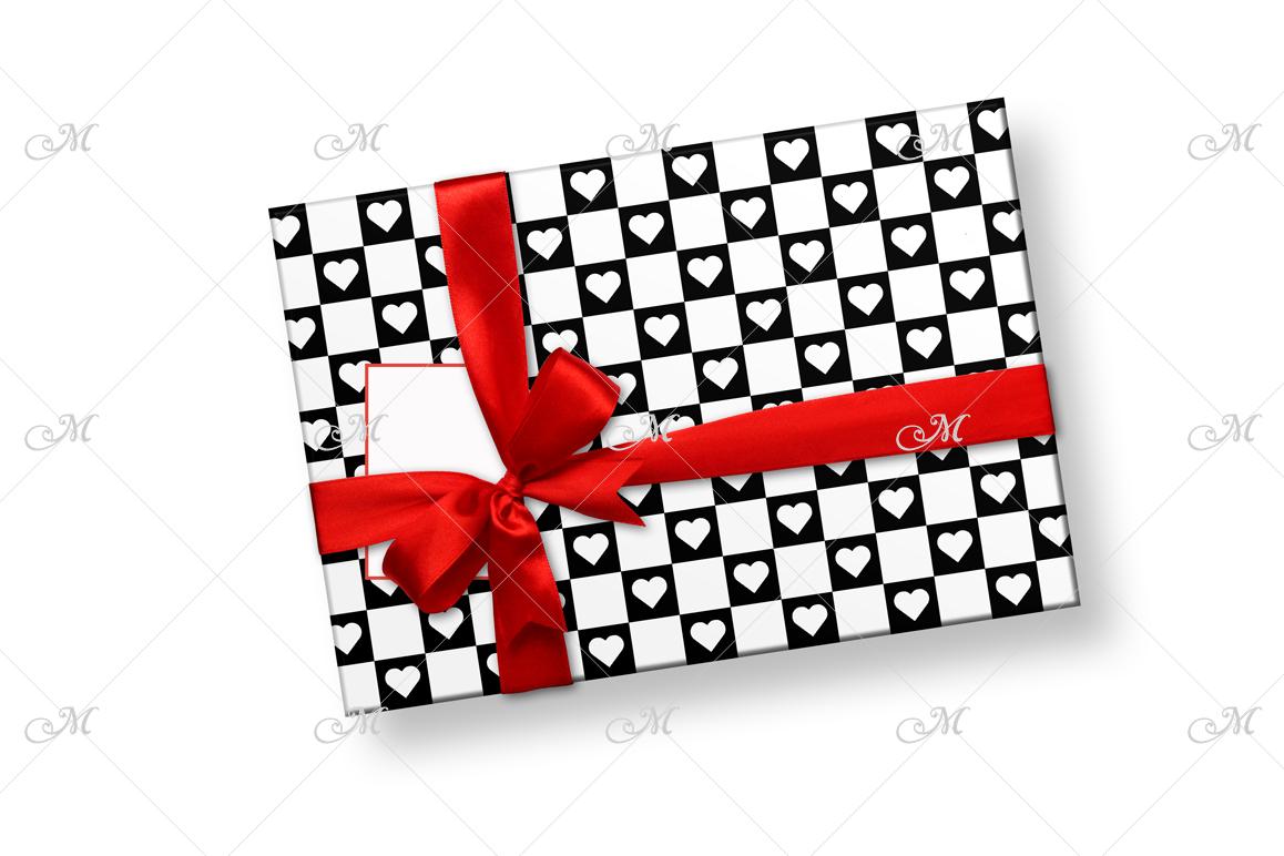 Smart Gift Box Mockup. Top view example image 4