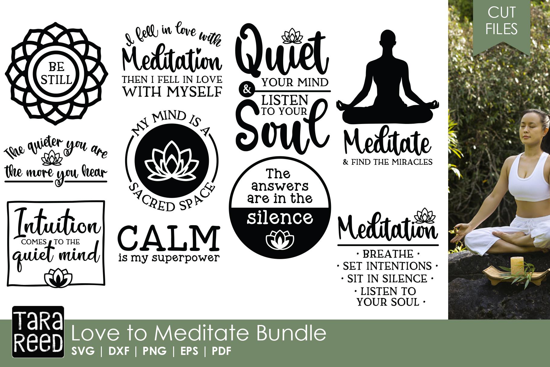 Yoga and Meditation MEGA Bundle example image 2