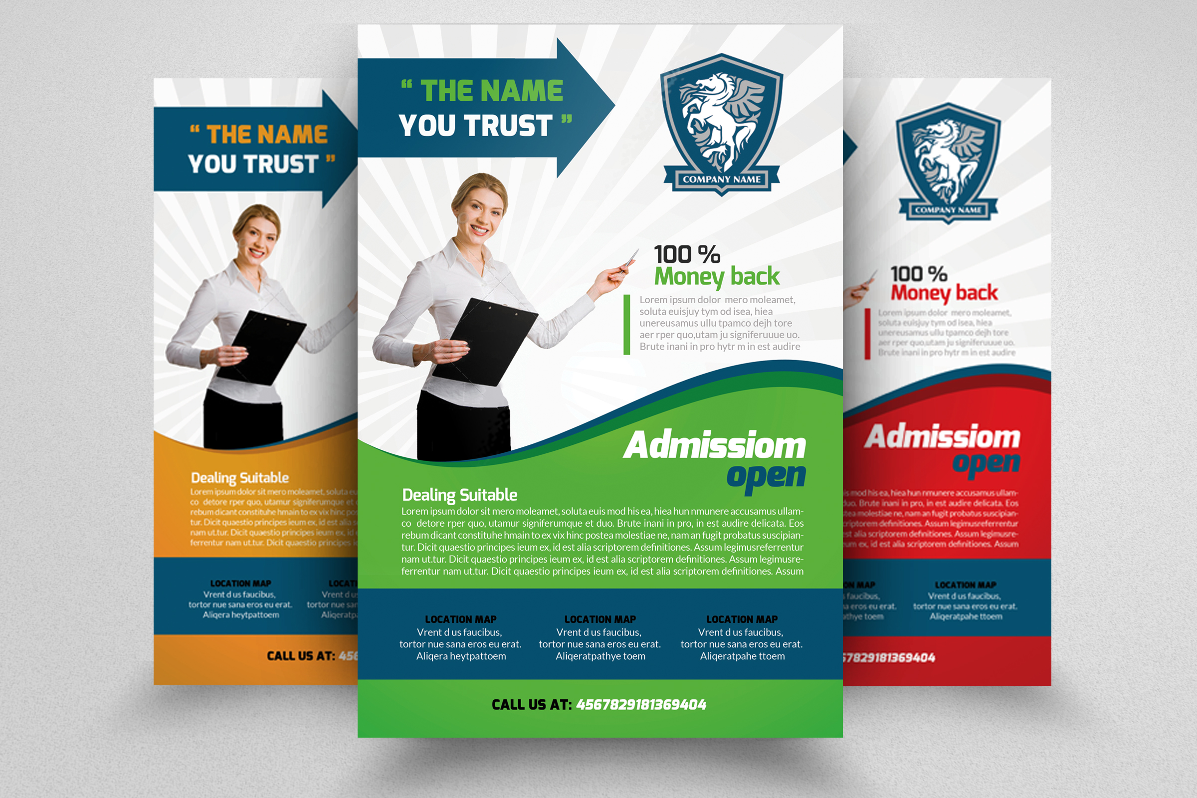 7 Corporate Business Flyers Bundle example image 8