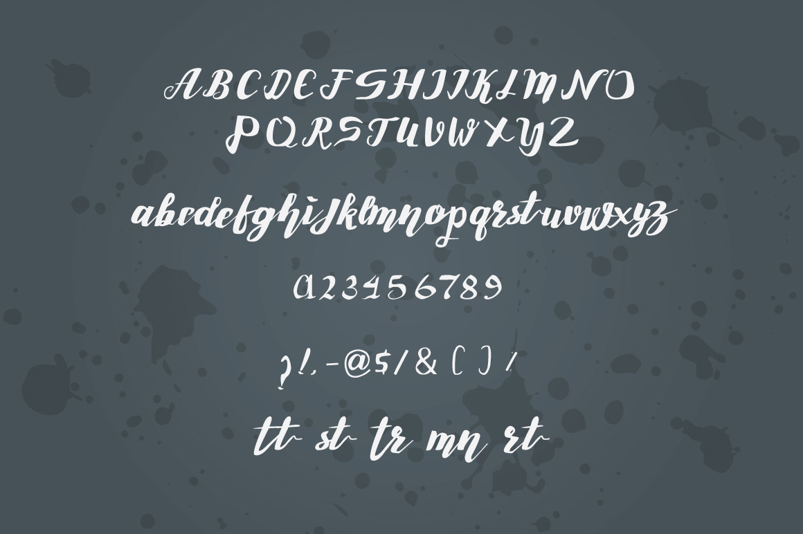 roselly Font example image 9