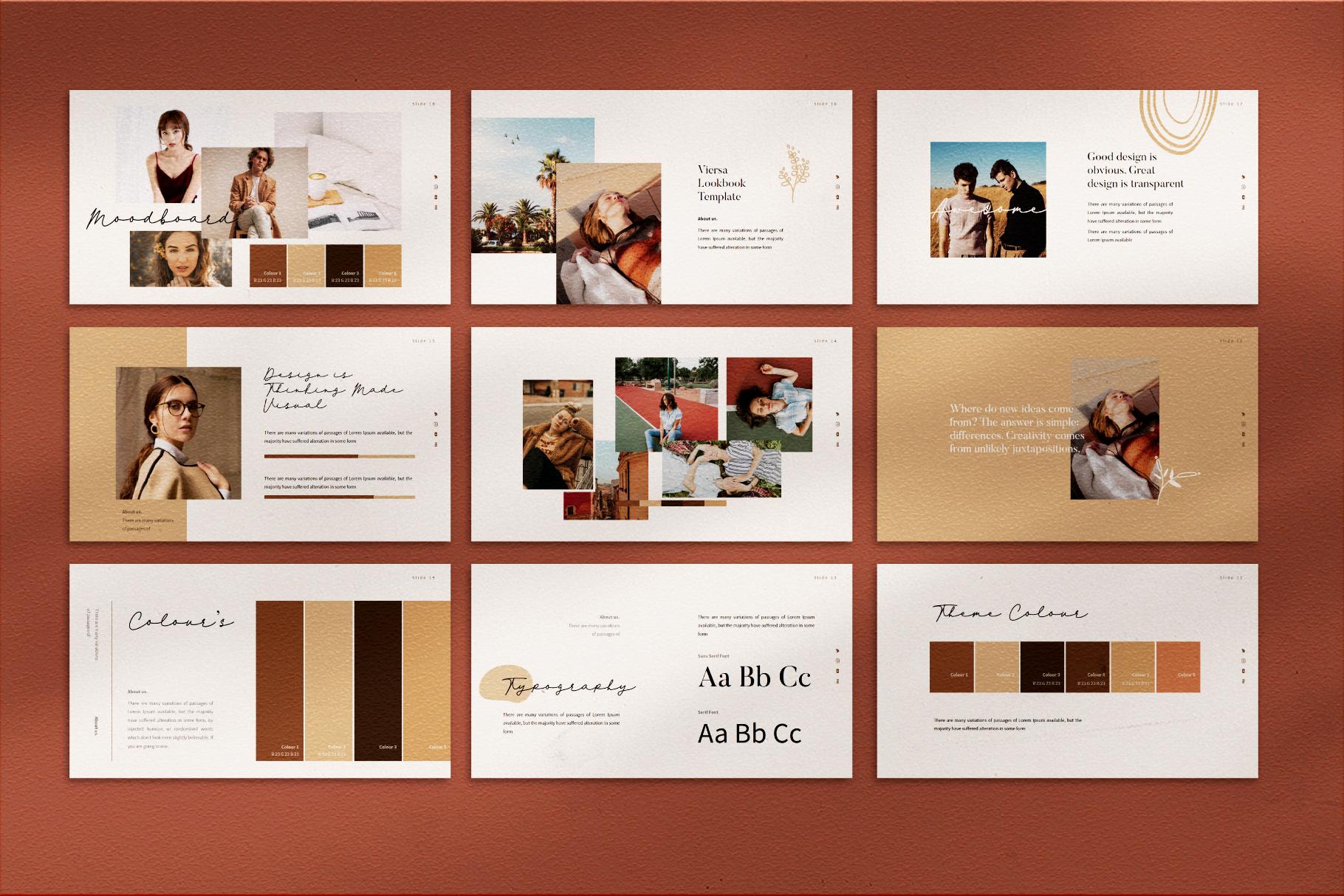 VIersa Creative Presentation Template example image 9