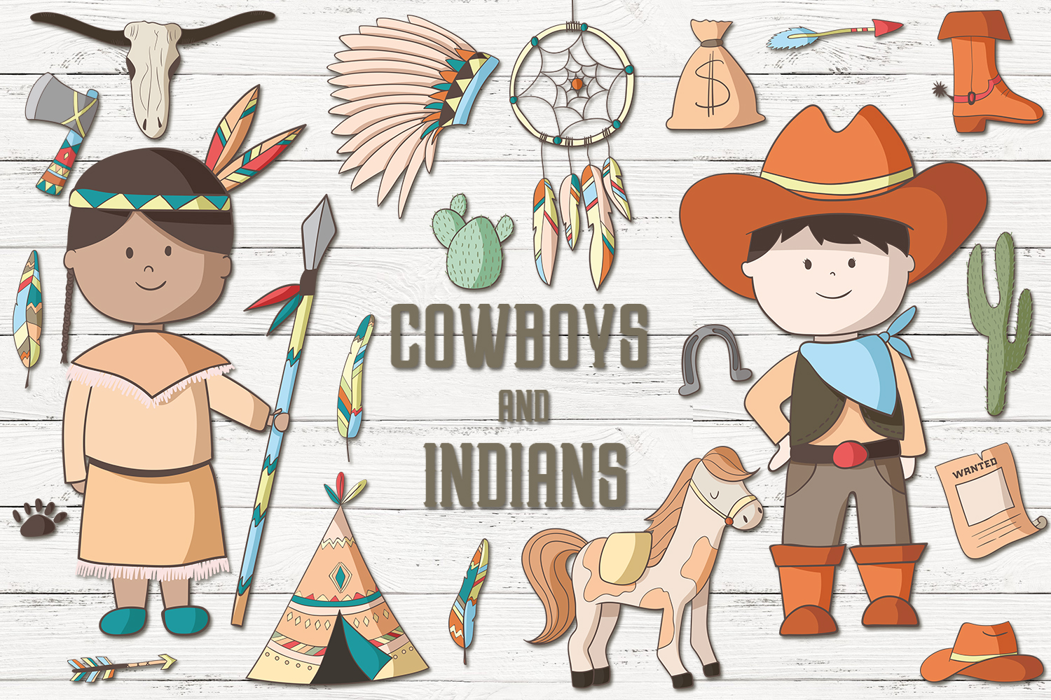 Cowboys and Indians example image 1