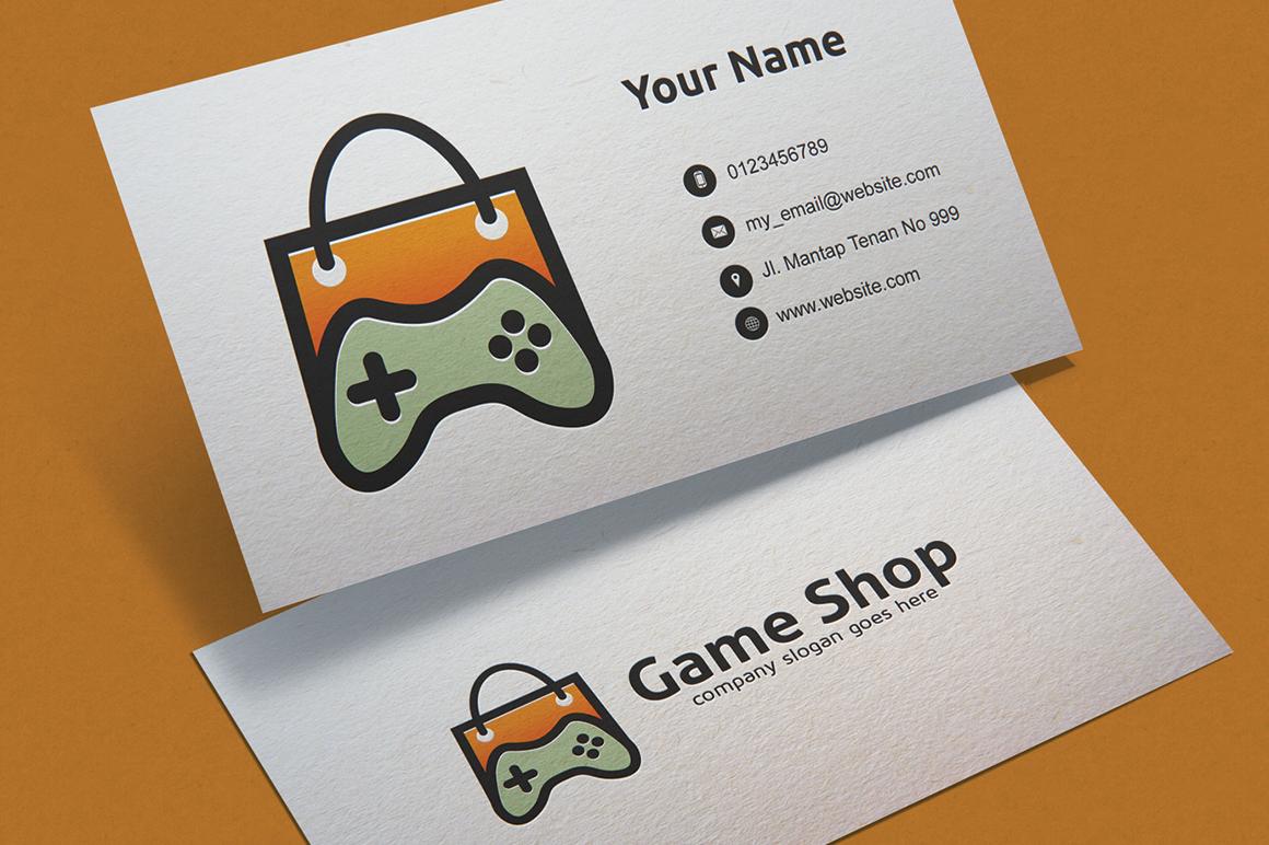 Game Shop Logo example image 1