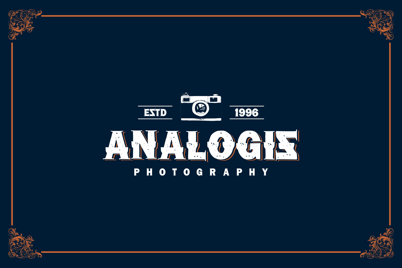 LOGOS | 5 Font Logo example image 5