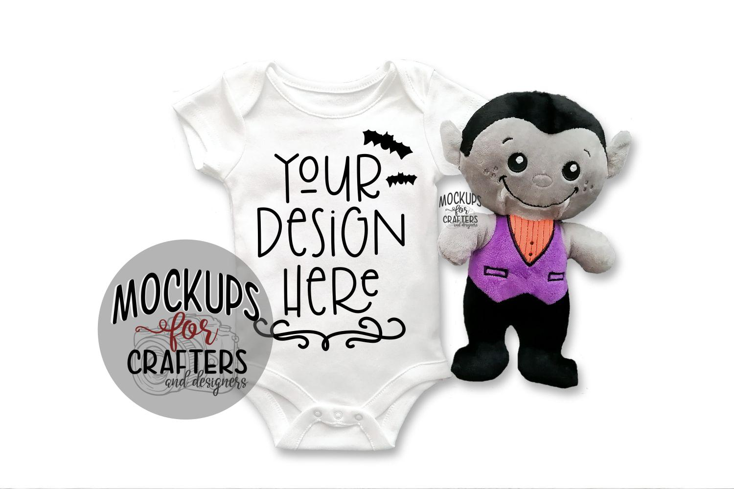 Halloween Baby Bodysuit - BONUS PHOTO INCL example image 2
