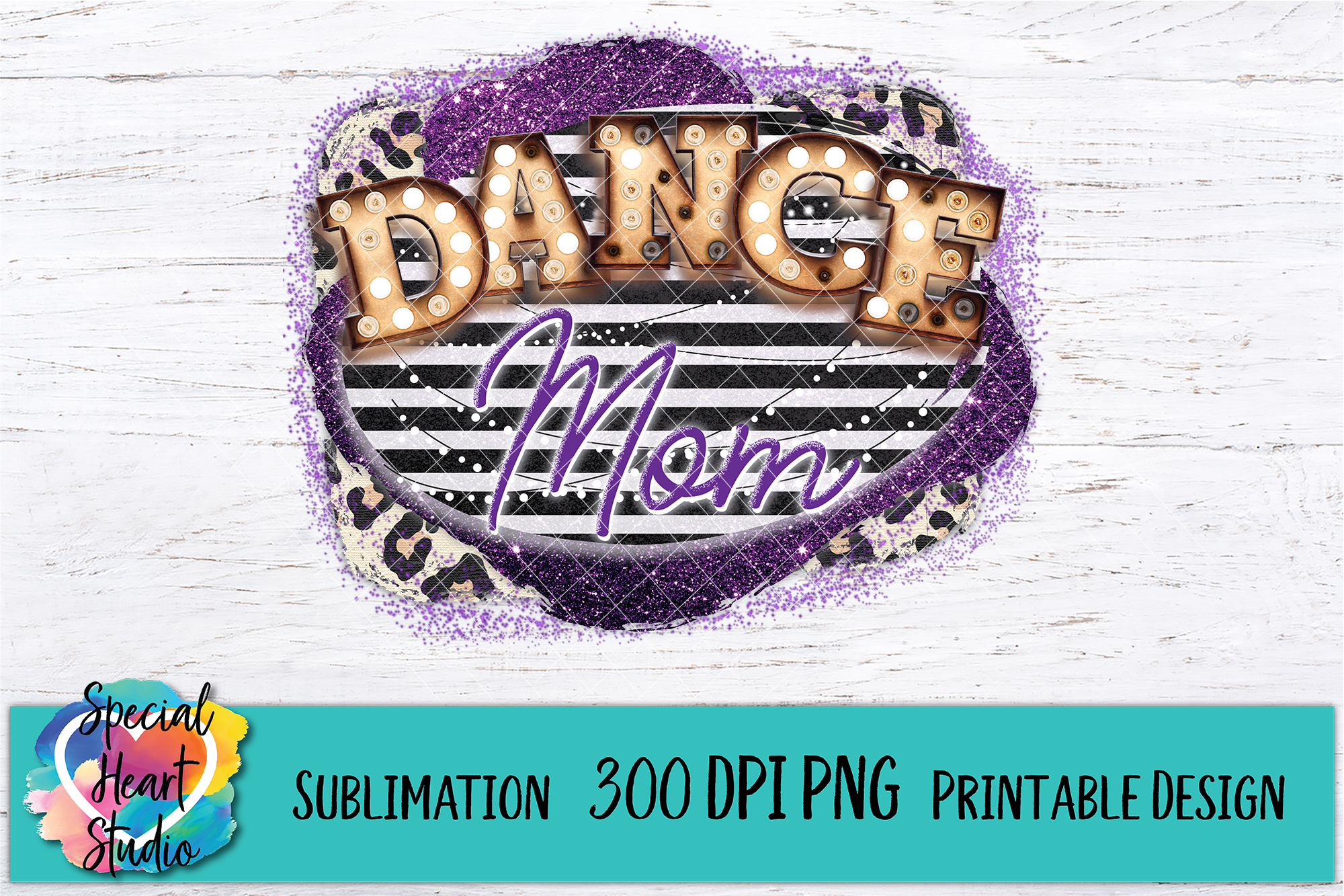 Dance Mom- Sublimation - 300 DPI PNG example image 2