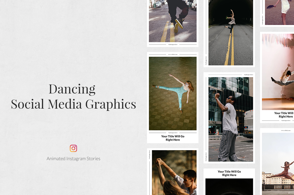 Dancing Animated Instagram Stories example image 1