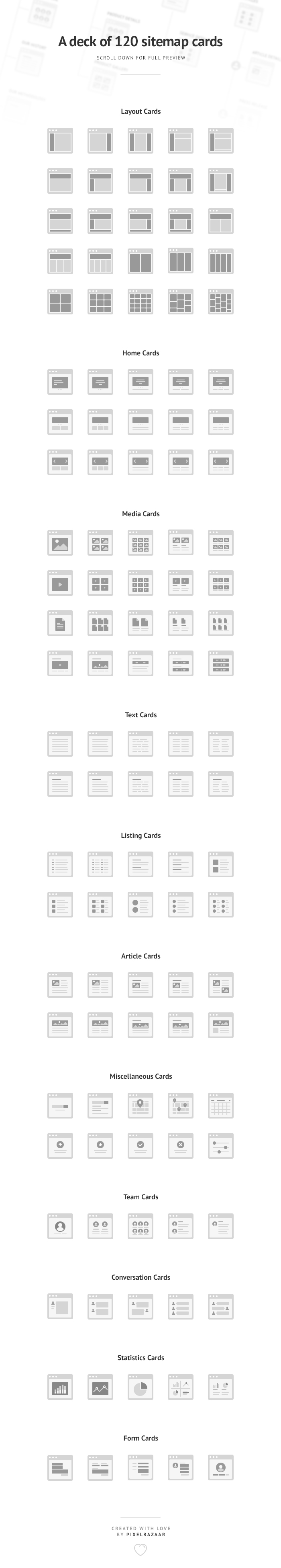 Simple Sitemap Cards example image 4