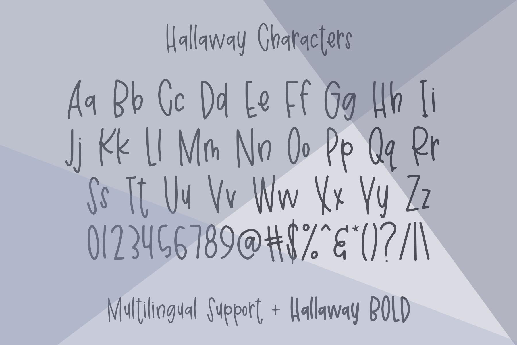 Hallaway example image 3