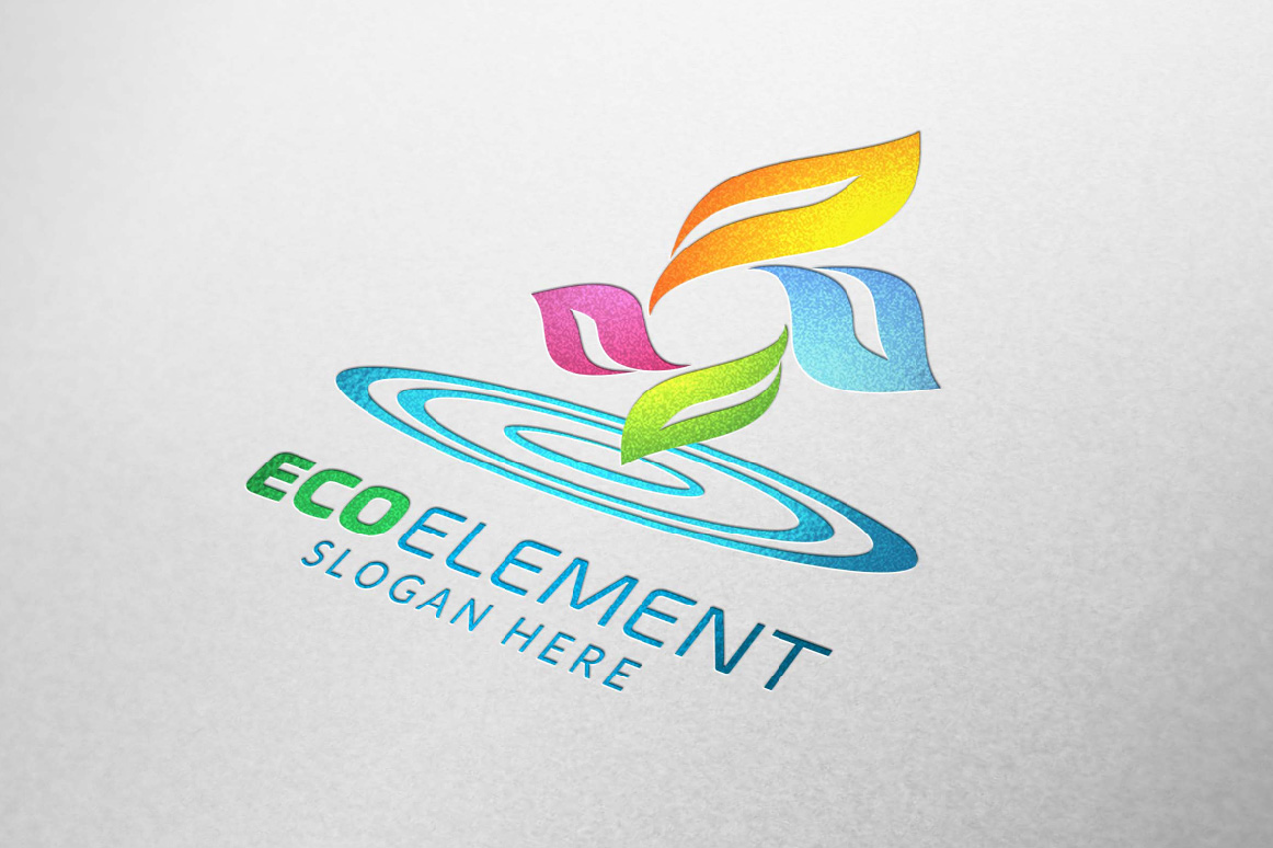 Infinity Green Element Ecology logo example image 4