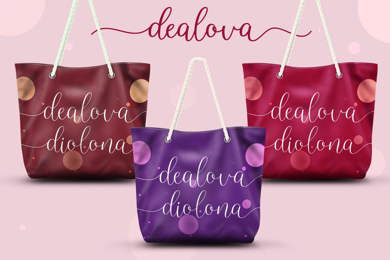 Denalova - Lovely Script example image 6