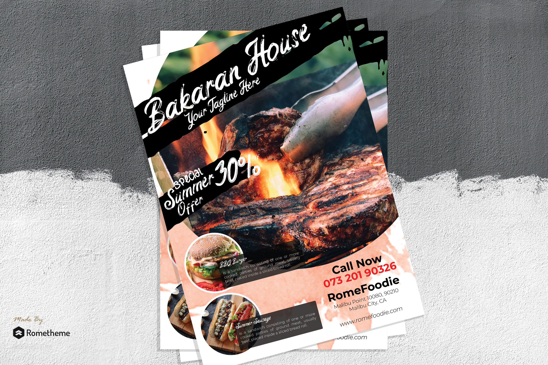 Food Flyer vol. 01 example image 1