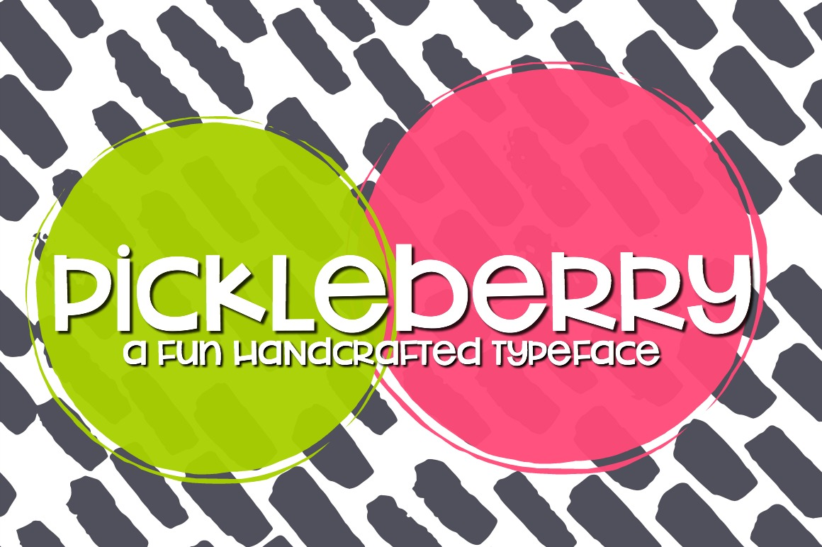 Pickleberry Font example image 1