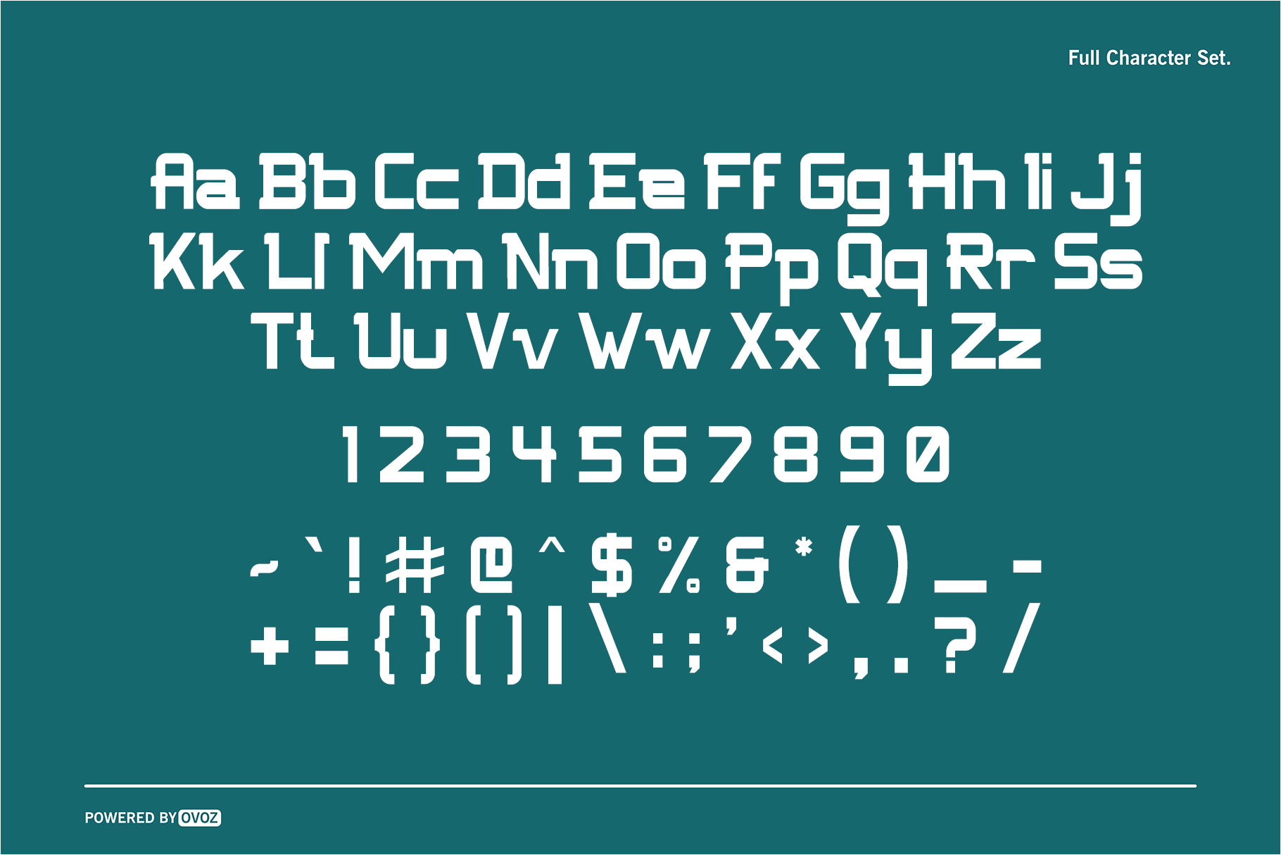 NFC FISSURE DISPLAY FONT example image 2