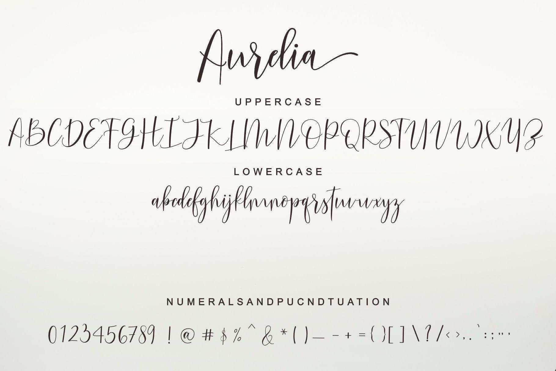 Aurelia Script example image 9