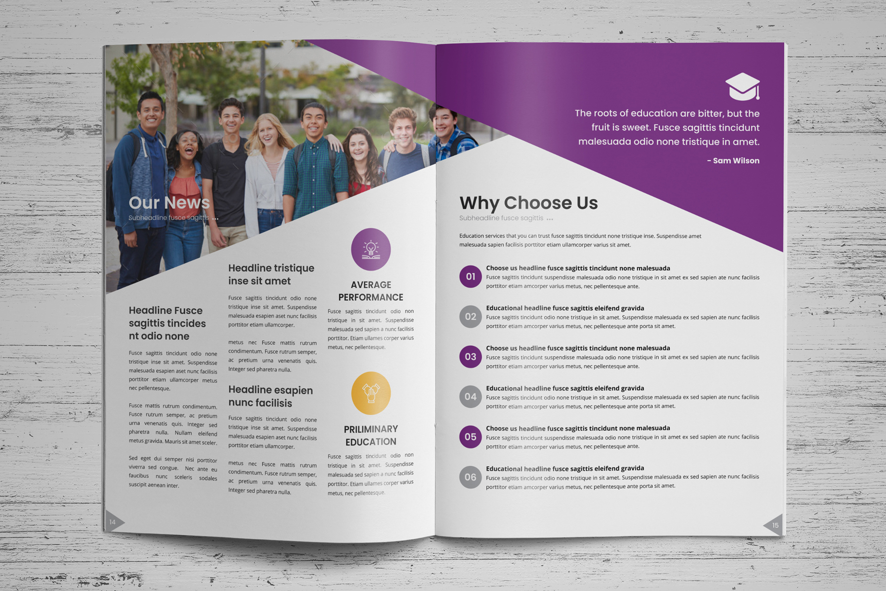 Education Prospectus Brochure v7 example image 10