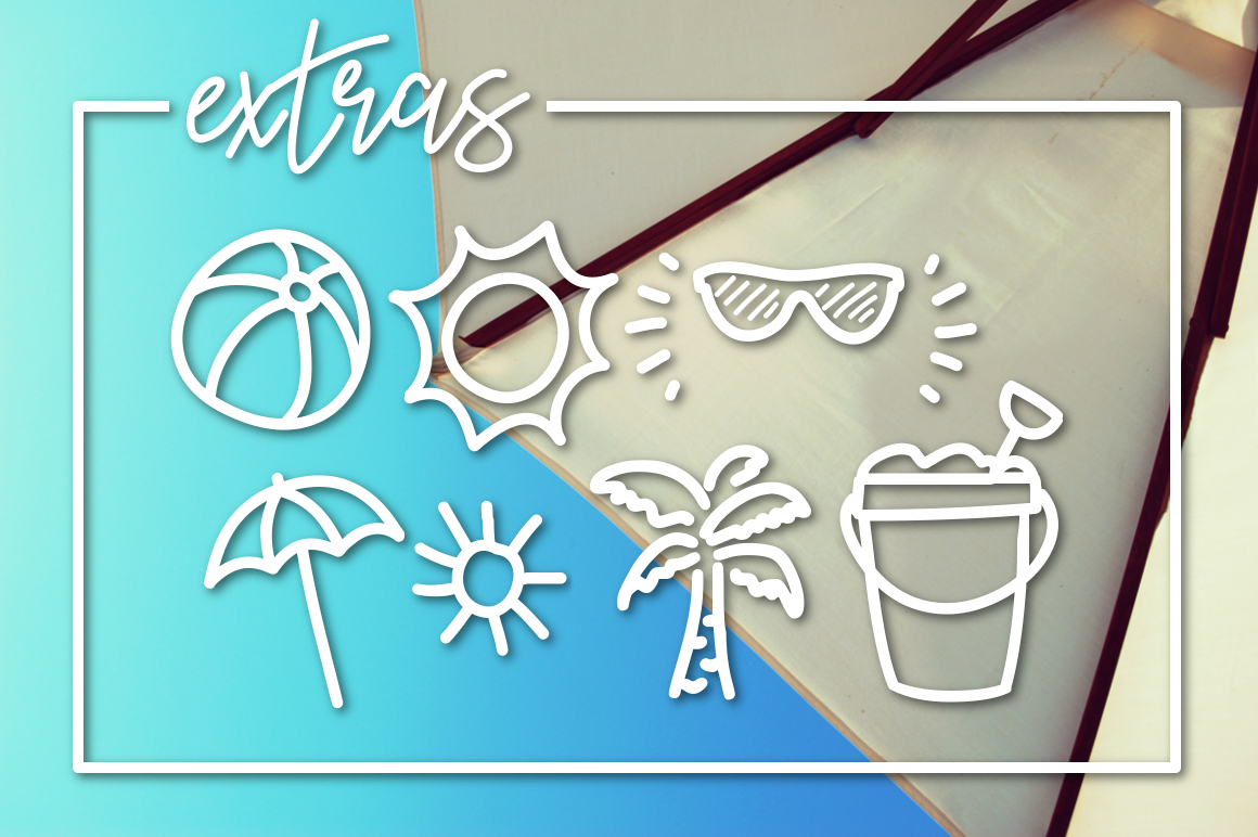 Sunny Beach a Handwritten Typeface example image 3