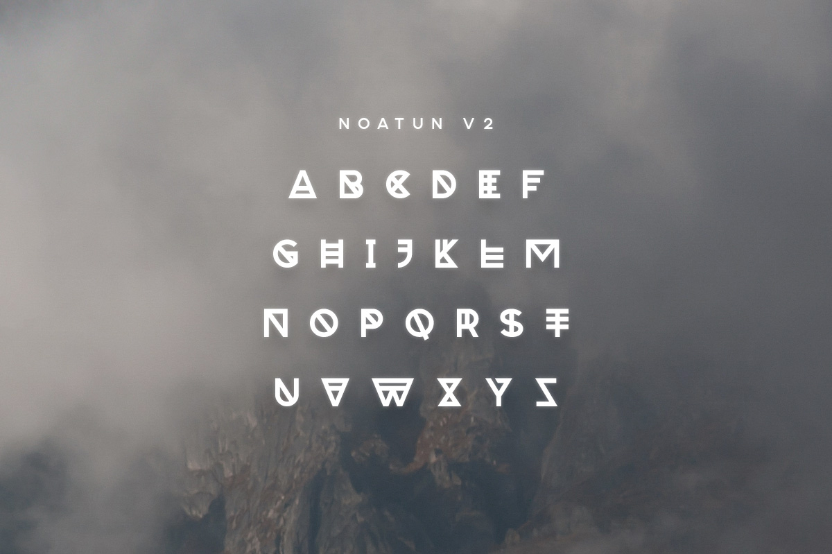 Noatun Typeface example image 3