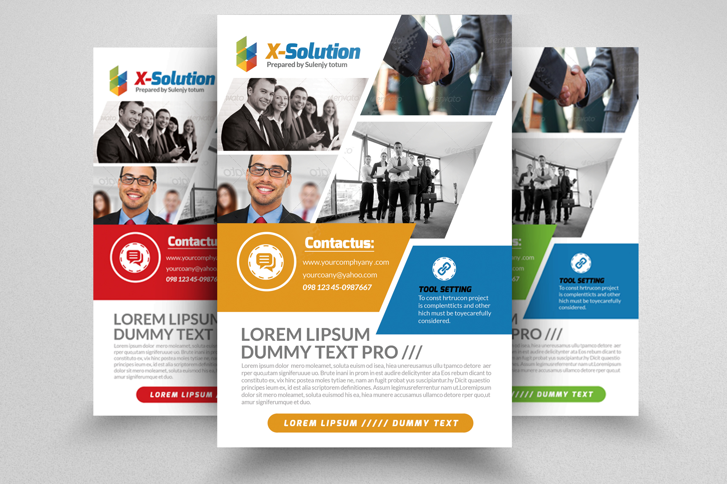 Corporation Business Flyer example image 1
