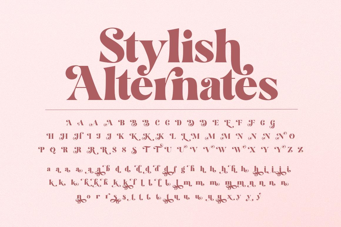 Restgold Serif Font example image 17