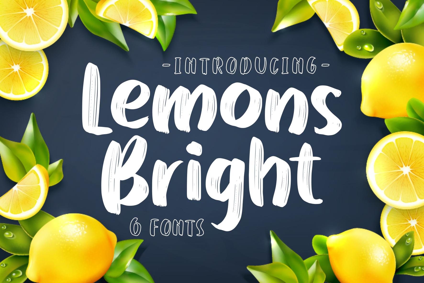 Various Font Bundle example image 13